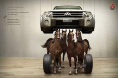 Mitsubishi Pajero Horses