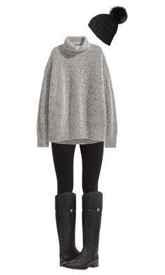 """""""Untitled #339"""" by blueblondie89 ❤ liked on Polyvore featuring NIKE, H&M, Tory Burch and Black"""