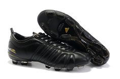 Authentic Adidas Adipure IV Trx FG Cleat all black Football Boots f0de549c6546f