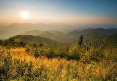 Beskydy mountains in the summer, Czech Republic