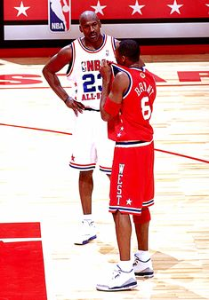 Michael And Kobe, '03 All Star Game.