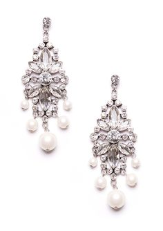 Princess Glam Statement Earrings $17.55 #happinessbtq
