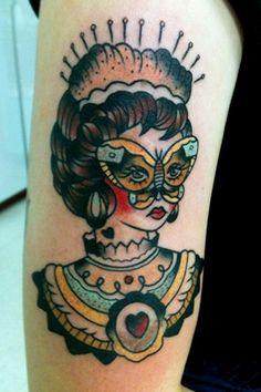 #Tattoo by Allyson Leigh Bennet  Follow my #traditional #tattoos board!  www.eff-style.com