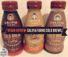 Vegan Review by The Dreamy Idealist.  Love Starbucks Double Shots and Bottled Iced Coffees?  Califia Farms is so much better and cruelty-free.