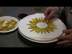 Fused Glass Sunflower for Window or Garden - YouTube