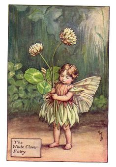 Awww...a little Irish garden fairy! :)