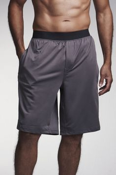 Chakras by Didi Mens Shorts Charcoal | www.downdogboutique.com
