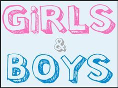 Do you hang out with girls or boys?