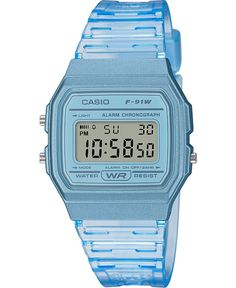 Extended battery life and Led lighting are just two of the valuable features built into this sky blue Casio digital timepiece. Casio Digital, Mens Digital Watches, G Shock, Swatch, Casio Classic, Calendar Date, Retro Watches, Unisex, Casio Watch
