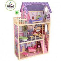 Parfaite maison de poupée XXL ! Des heures de jeux en perspective ! http://www.bebegavroche.com/maison-de-poupees-kayla.html
