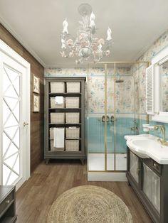 Фото из статьи: Ванная в стиле прованс: оазис прекрасного настроения