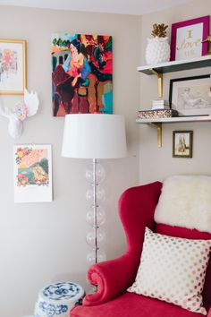 A Whimsical Apartment for Two in Columbia, MD | Design*Sponge