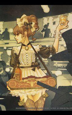 マツオヒロミ Character Inspiration, Character Art, Character Design, Anime English, Illustration Manga, Comic Art Girls, Painting Of Girl, Illustrations And Posters, Manga Girl