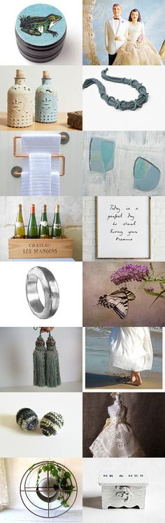 A Fresh Look at 'I Do' by Untried on Etsy--Pinned+with+TreasuryPin.com