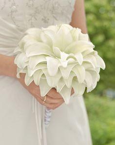 - Brautstrauß Inspirationen Weiß