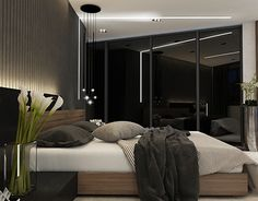 Bedroom / black style on Behance