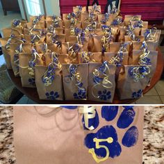 Football goody bags or basketball or baseball or volleyball or. Cheer Coaches, Cheerleading Gifts, Cheer Gifts, Cheer Mom, Cheer Stuff, Cheer Bags, Cheerleader Gift, Softball Stuff, Football Goody Bags