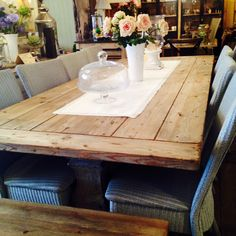 All new, #Rustic original refectory #table. #Vintage #Furniture #WoodenFurniture #Homedecor
