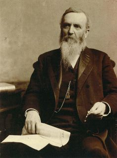 George Hearst father of William Randolph Hearst