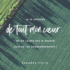 Psaumes 119: 10