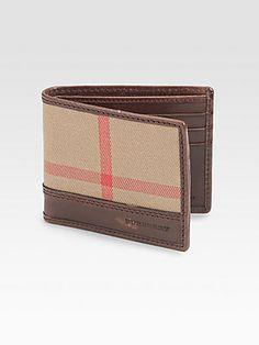 Burberry Check Hipfold Wallet