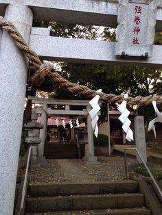 3 entrances of a shrine. #japan