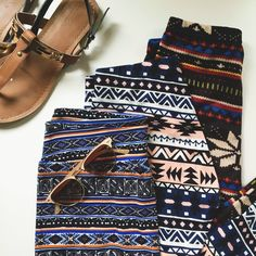 Tribal Legging Bundle Just in time for Spring and Summer, this is a fun little bundle of funky bohemian leggings and 1 pair of shorts! The shorts are forever 21 and the other 2 are boutique brands. Forever 21 Pants Leggings