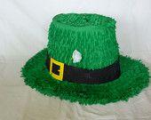 Piñata: Leprechaun Hat, St. Patrick's Day Piñata