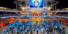 80s deck party on _Carnival Vista_