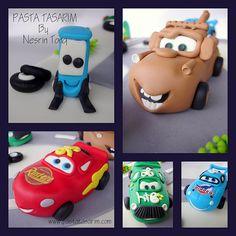 CARS BIRTHDAY CAKE - YAĞIZ | Flickr - Photo Sharing!