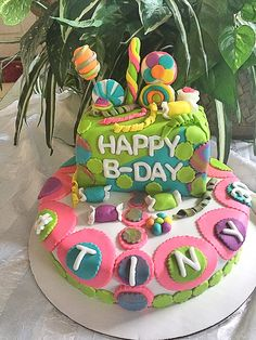 Candy lover cake