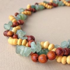 Great for bin beads and strands! Braided bead necklace