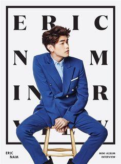 Eric Nam Confirms Comeback Date and Reveals New Album Cover