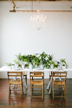 ℳ botanical wedding reception ideas