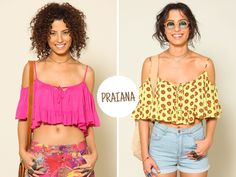 adoro FARM - como usar: top cropped
