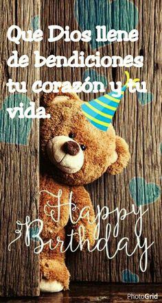 Feliz cumpleaños! Que Dios llene de bendiciones tu corazón y tu vida.