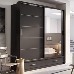 Brayden Studio Tengan 2 Door Sliding Wardrobe & Reviews | Wayfair.co.uk
