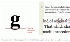 Web Typography: Educational Resources, Tools and Techniques