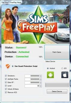 Sims Freeplay Hack (Android/iOS) Cheat 2016 tool download. With updated Sims…