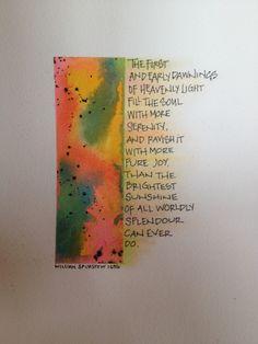 saltlightcalligraphy by kellie moeller