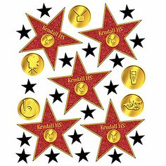 Our Star Walk of Fame Personalized Decals have the look of the famous Hollywood Stars. Each Star Walk of Fame Personalized Decals can be personalized.