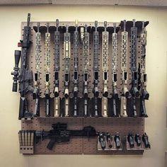 Laser gun storage for kid's spy play house Ammo Storage, Weapon Storage, Tactical Equipment, Tactical Gear, Airsoft, Gun Safe Room, Gun Closet, Gun Vault, Gun Rooms