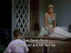Doris Day - Que sera sera - with Lyrics