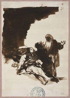 """""""Amparo """" by Francisco de Goya Museo Nacional del Prado. Madrid"""