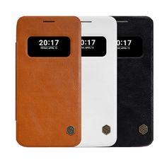 NILLKIN Smart Window Flip PU Leather & PC back Case For LG G5