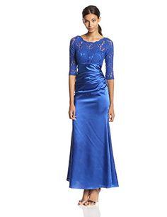 Ever Pretty Women's Elegant 3/4 Sleeve Lace Long Evening Dress, Sapphire Blue, 4 Ever-Pretty http://www.amazon.com/dp/B00ICX7IXO/ref=cm_sw_r_pi_dp_.29Aub00EF1CD