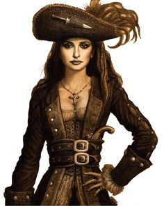 'Angelica' (Blackbeard's daughter), from 'Pirates of the Caribbean: On Stranger Tides'.