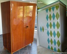 Old Furniture, Retro Furniture, Furniture Makeover, Painted Furniture, Painting Tips, Armoire, Diy Home Decor, Projects To Try, Old Things