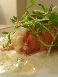 Elegant Butter Poached Lobster with Champagne Gelée