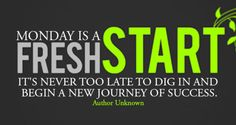 Monday is here again! Do you have any new goals for this week? https://feelgoodnatural.com/ #health #freshstart #feelgood